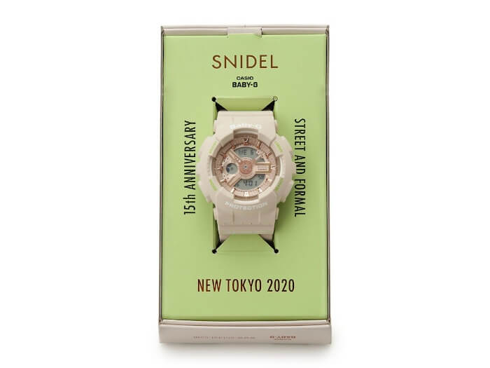 Snidel x Baby-G BA-110 for Snidel 15th Anniversary