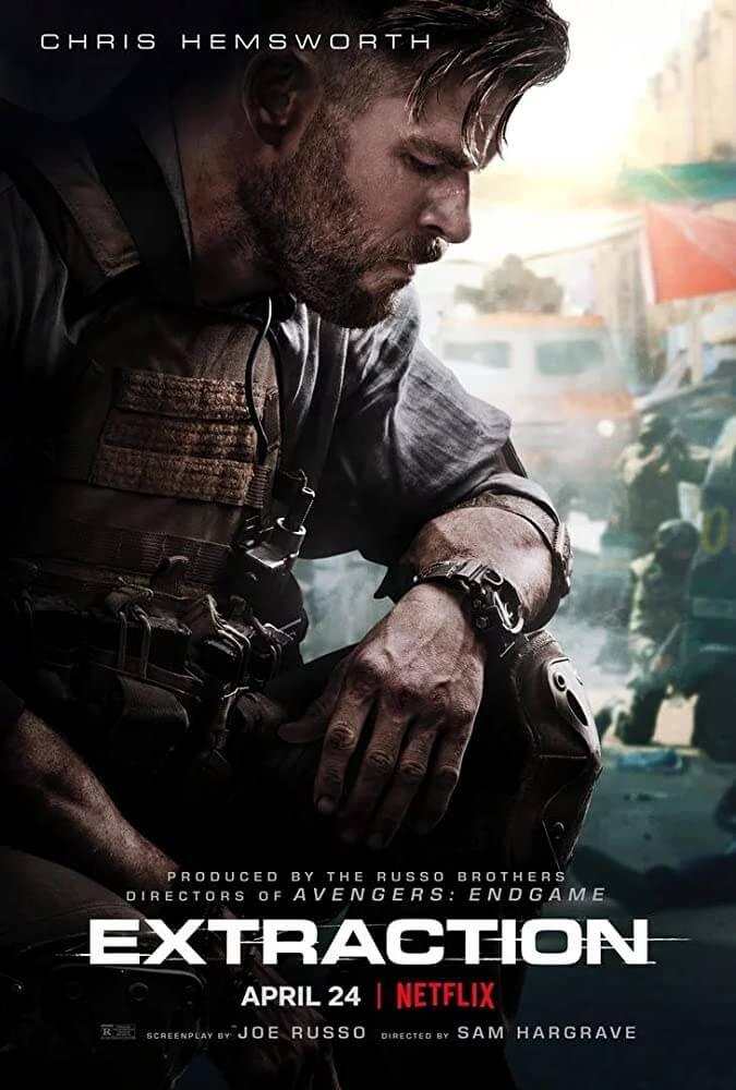 Chris Hemsworth wears G-Shock Rangeman in Extraction