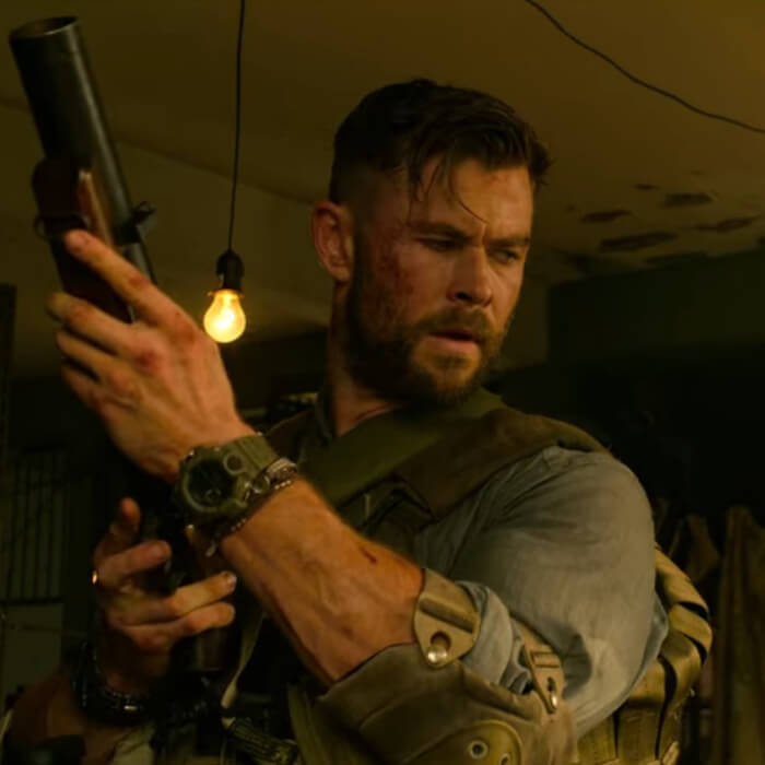 Chris Hemsworth Wears G Shock Rangeman Watch In Extraction G Central G Shock Watch Fan Blog