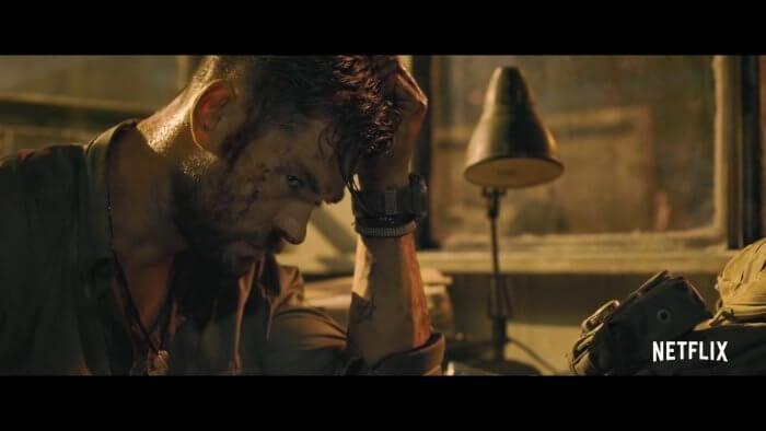 Chris Hemsworth wears G-Shock Rangeman GW-9400 in Extraction