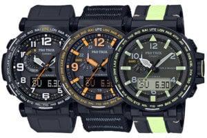 Pro Trek U.S. PRW6600Y-1A9, PRG600YB-1, PRG650YL-3