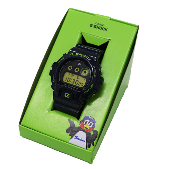 Tokyo Yakult Swallows x G-Shock DW-6900 for 2020 Box