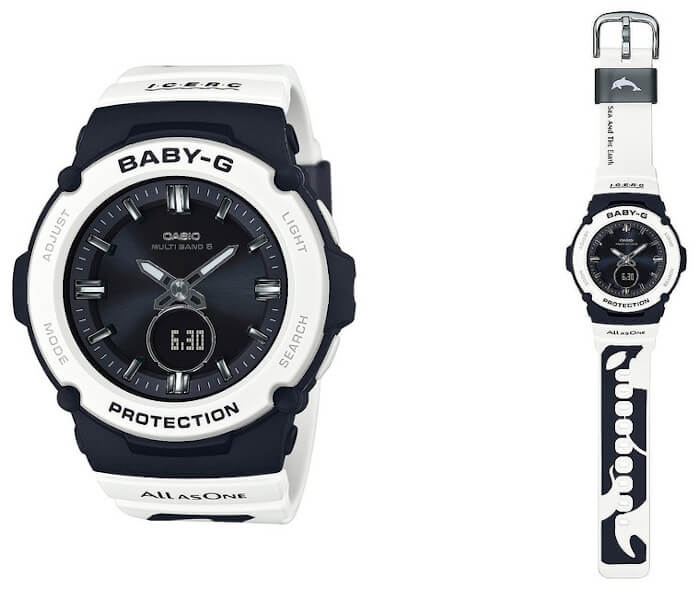 Baby-G BGA-2700K-1AJR Love The Sea And The Earth I.C.E.R.C. 2020 Orca Edition