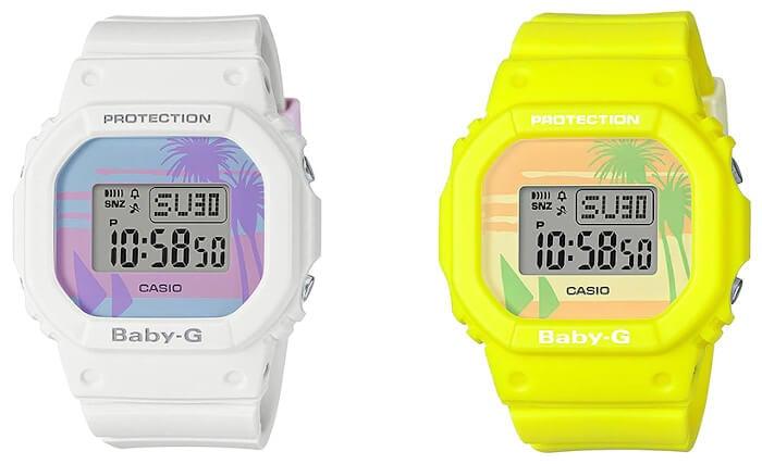 Baby-G BGD-560BC Beach Colors Series: white BGD-560BC-7, yellow BGD-560BC-9