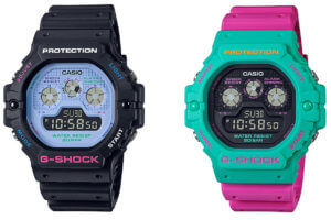 G-Shock DW-5900DN Psychedelic Multi Color Series