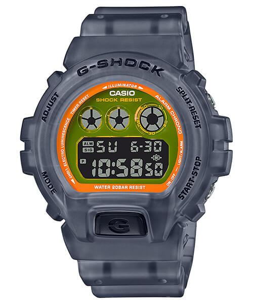 G-Shock DW-6900LS-1 Translucent Black Gray