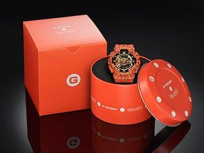 Dragon Ball Z x G-Shock GA-110JDB-1A4 Box