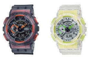G-Shock GA-110LS-1A and GA-110LS-7A