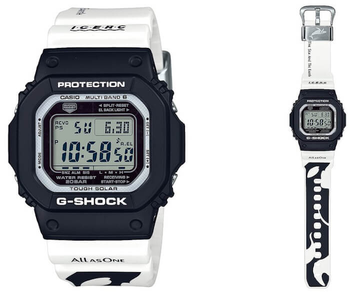 G-Shock GW-M5610K-1JR Love The Sea And The Earth ICERC 2020 Orca Edition
