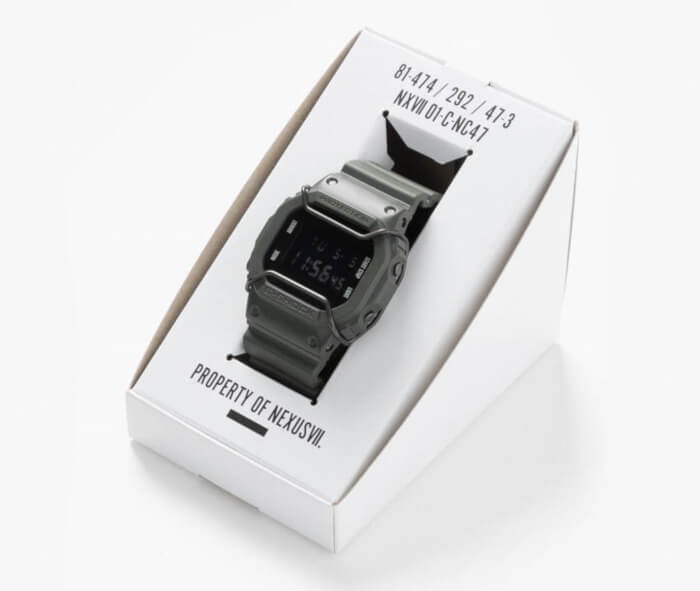 NexusVII x G-Shock DW-5600 for Urban Research Case