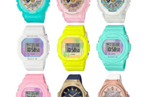 Baby-G May 2020: BA-110SC Sea Glass, BGD-560BC BGD-570BC '80s Beach, MSG-S500G-2A, MSG-S500G-7A2