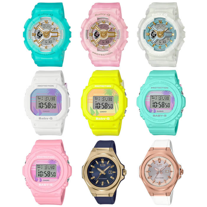 Casio Baby-G May 2020