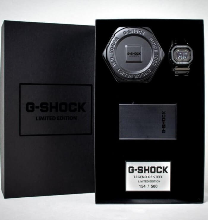 G-Shock GMW-B5000GDLTD-1ER Legend of Steel Limited Edition