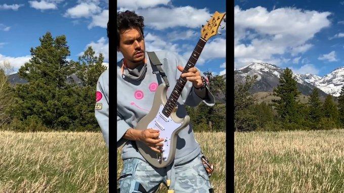 John Mayer G-Shock Mudmaster GWG-1000 Wristwatch in Inside Friend Video