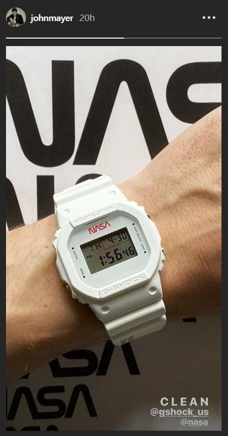 John Mayer NASA G-Shock Watch