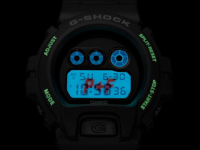 PLACES+FACES x G-Shock DW-6900 EL Backlight