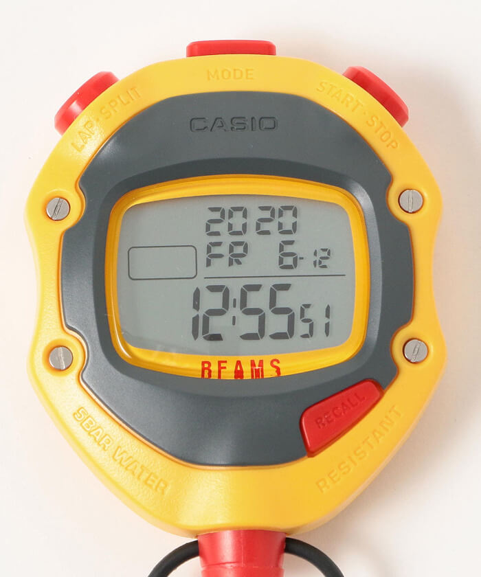 Beams x Casio Stopwatch