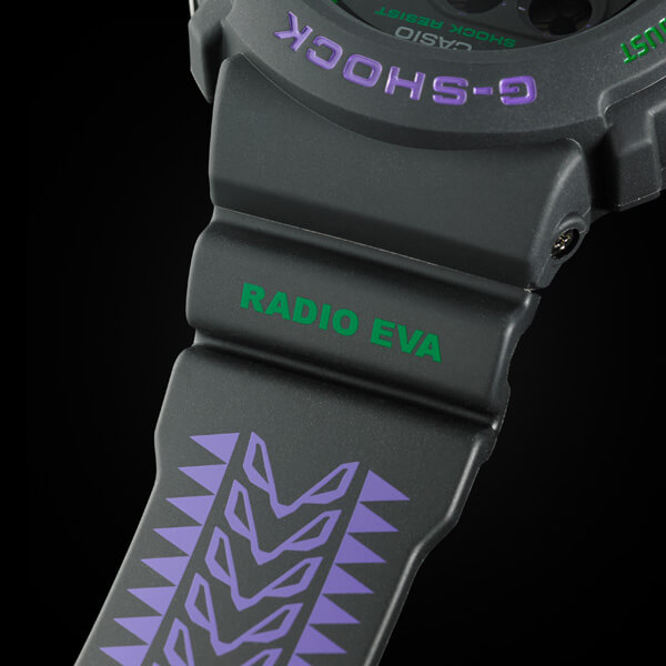 Evangelion x G-Shock DW-6900 Upper Band
