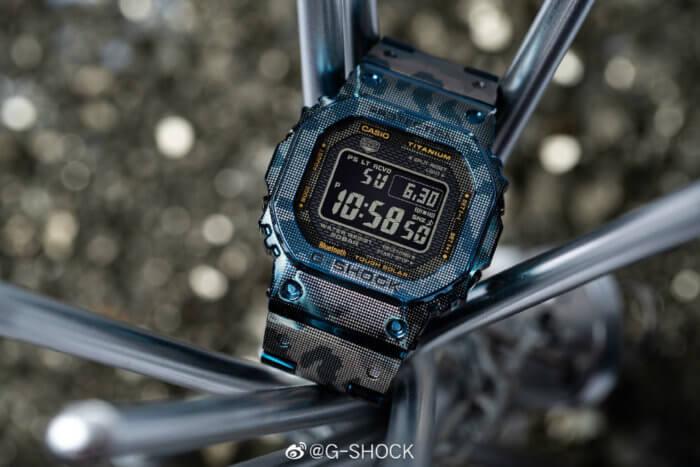 G-Shock GMW-B5000TCF-2 Blue Camouflage