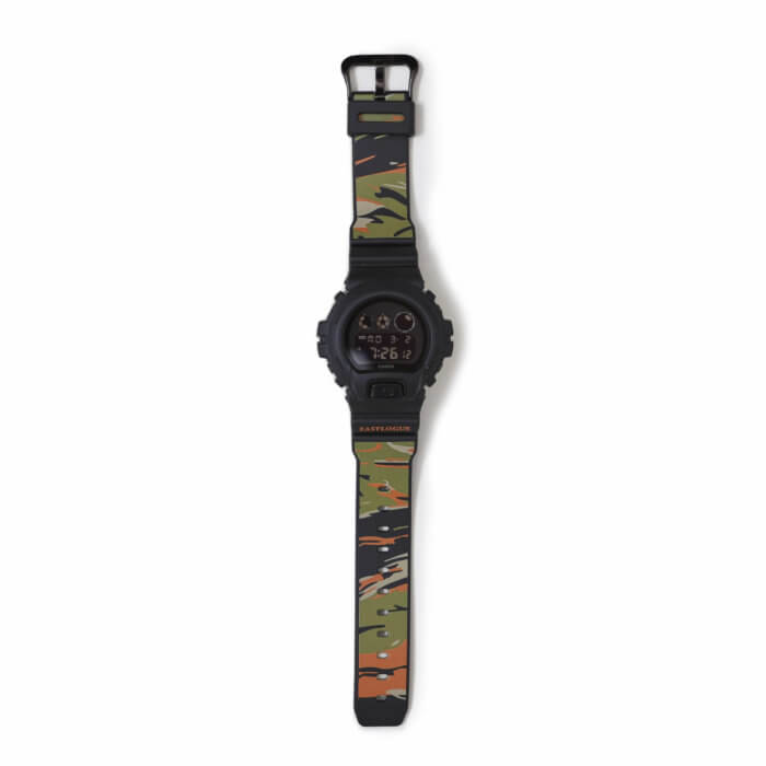 Eastlogue x G-Shock DW-6900 Tiger Stripes Collaboration