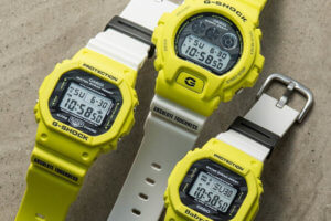 G-Shock DW-5600TGA-9 & DW-6900TGA-9 Baby-G BGD-560TG-9JF Lighting Yellow
