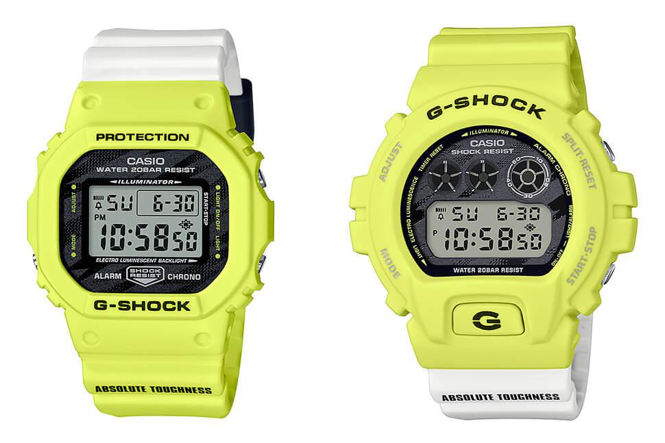G-Shock DW-5600TGA-9 & DW-6900TGA-9 Lighting Yellow – G-Central G-Shock Watch Fan Blog