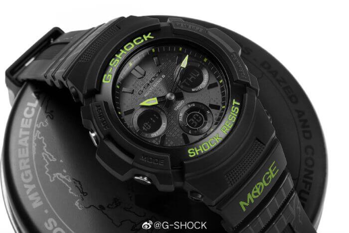 MYGE x G-Shock AWG-M100SDC-1APRMYGE for China