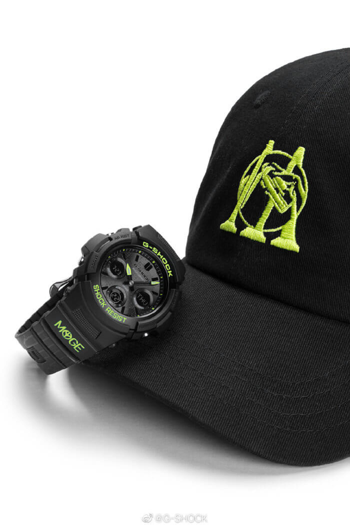 MYGE x G-Shock AWG-M100SDC-1APRMYGE Cap