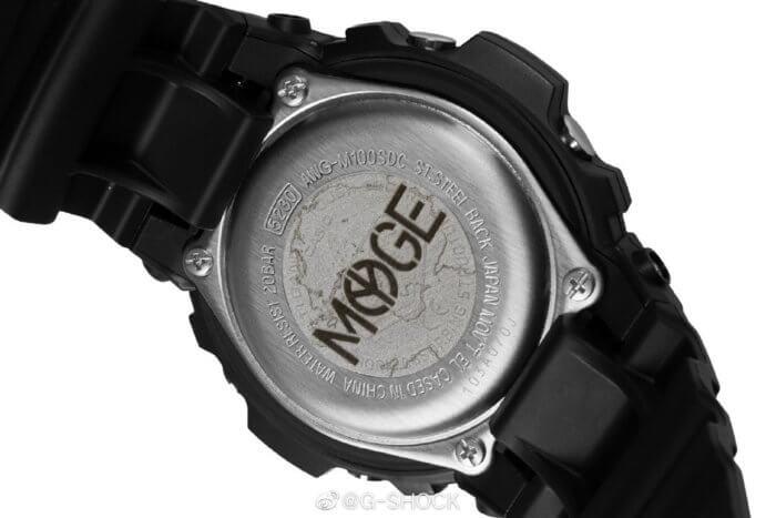 MYGE x G-Shock AWG-M100SDC-1APRMYGE Case Back