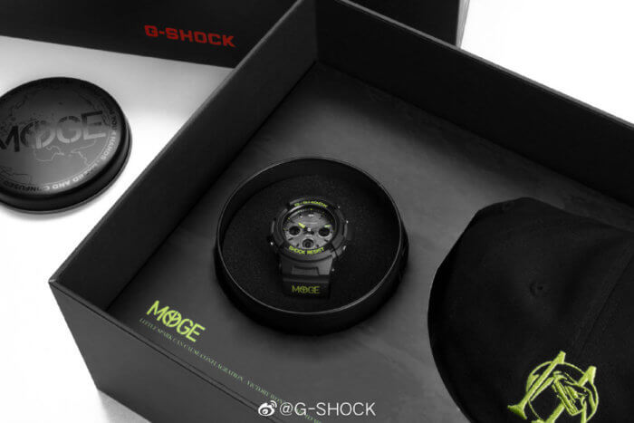 MYGE x G-Shock AWG-M100SDC-1APRMYGE for China Case and Box