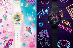 Baby-G BA110TM-1A and BA110TM-7A Kawaii Decora Harajuku Style