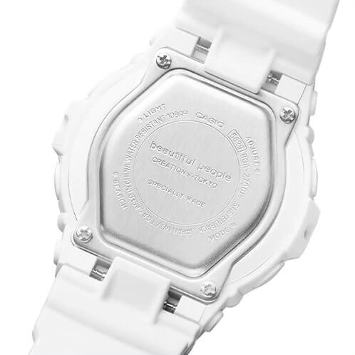 beautiful people x Baby-G BGA-270BP-7A Case Back