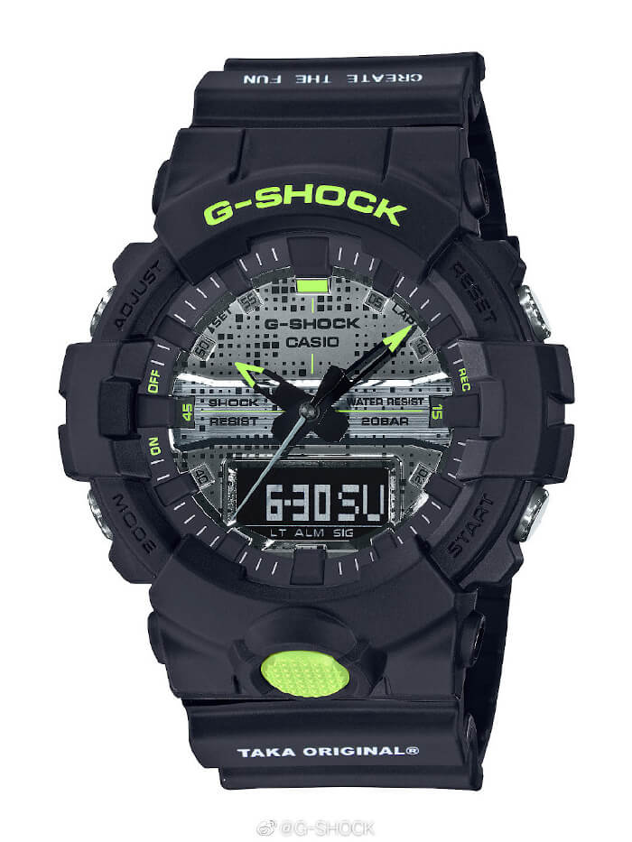 TAKA Original x G-Shock GA-800DC-1APRTAKA