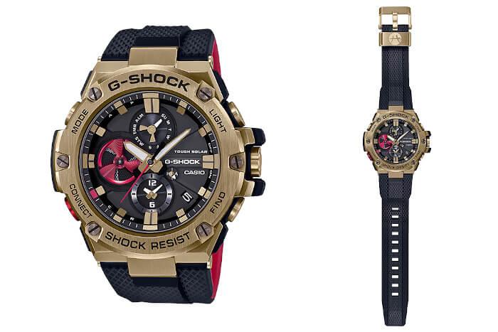 Rui Hachimura x G-Shock GST-B100RH-1A Signature Model