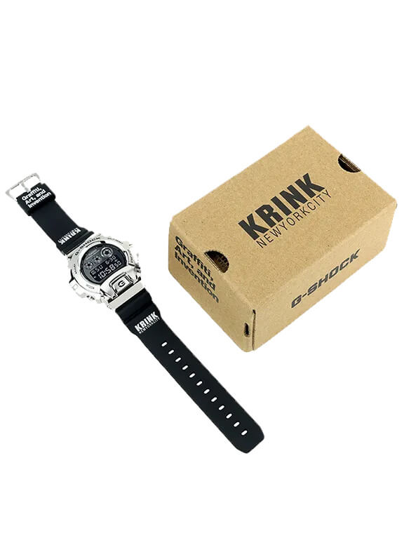 Krink x G-Shock GM6900-1KR Box