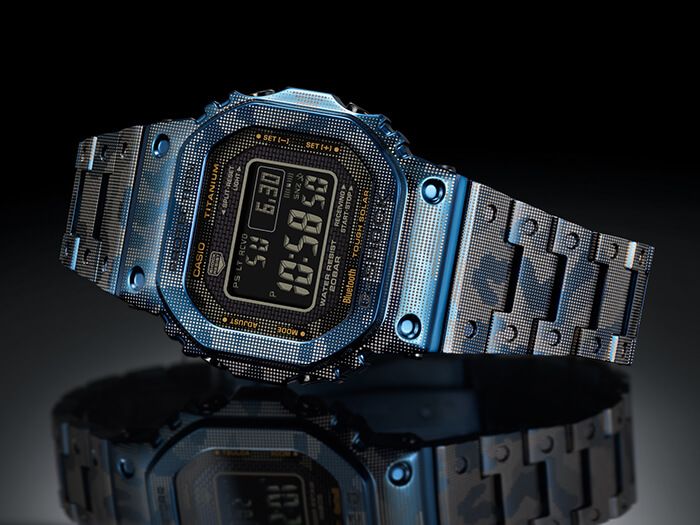G-Shock GMW-B5000TCF-2 Watch Display