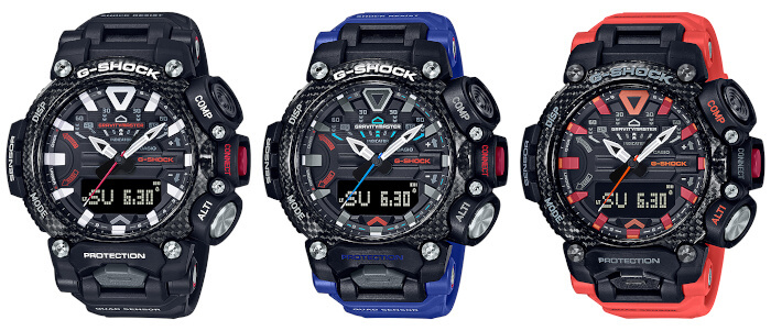 G-Shock GR-B200 Gravitymaster has a Quad Sensor and Carbon Core Guard – G-Central G-Shock Watch Fan Blog