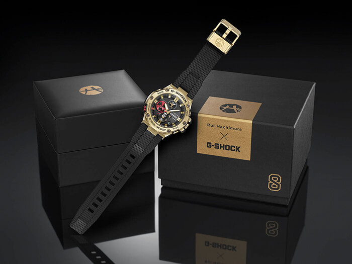 G-Shock GST-B100RH-1A Case and Box