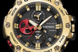 G-Shock GST-B100RH-1A Dial