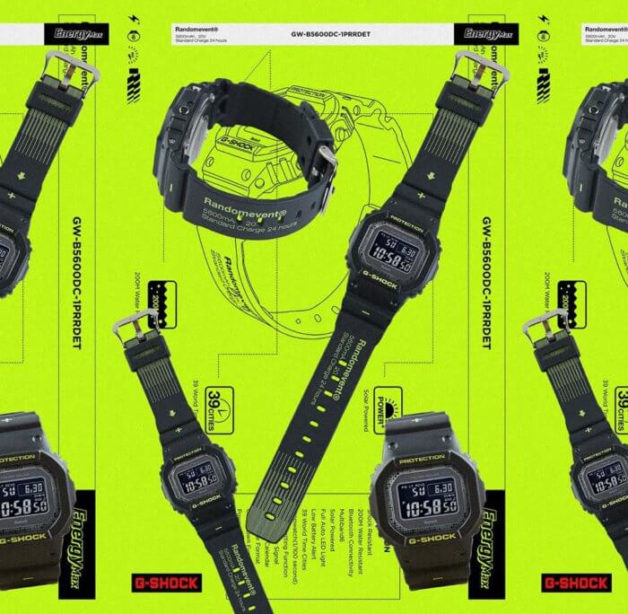 Randomevent x G-Shock GW-B5600DC-1PRRDET Band