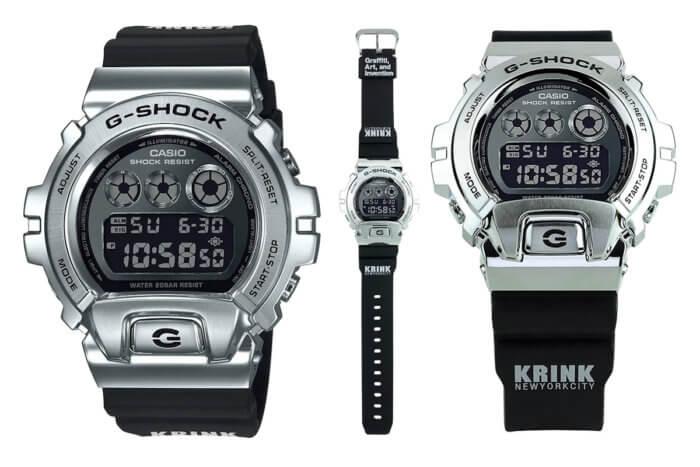 Krink New York City x G-Shock GM6900-1KR to celebrate new Krink book