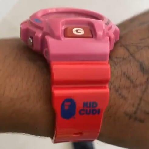 Kid Cudi x A Bathing Ape (BAPE) x G-Shock DW-6900 Band