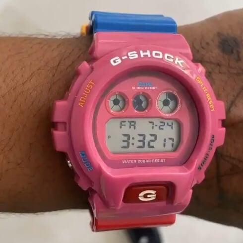 Kid Cudi x A Bathing Ape (BAPE) x G-Shock DW-6900 for 2020