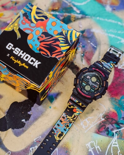mightyyellow x G-Shock GA-140-1A4NDP20 for Singapore 55th National Day