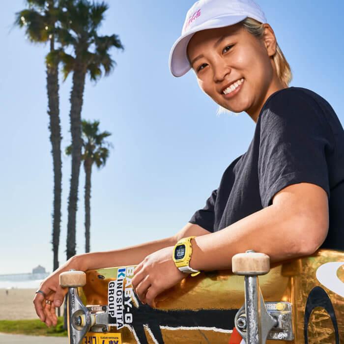 Aori Nishimura: Champion Skateboarder and Baby-G Ambassador