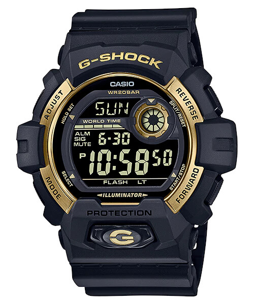 G-Shock G-8900GB-1 Black and Gold
