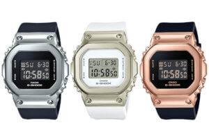G-Shock GM-S5600: A Smaller (S Series) Metal Square