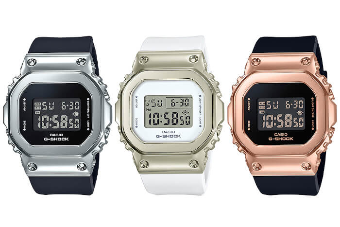 G-Shock GM-S5600: A Smaller Metal (S Series) Square – G-Central G-Shock Watch Fan Blog