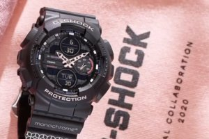 Monochrome x G-Shock GMA-S140 Pink Collaboration for Russia