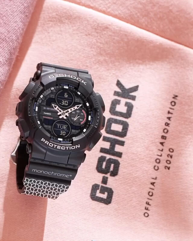Monochrome x G-Shock GMA-S140 Collaboration in Russia – G-Central G-Shock Watch Fan Blog